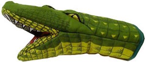 Alligator Shape Oven Mitt
