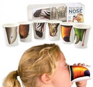 Assorted Party Animal Noses Cups