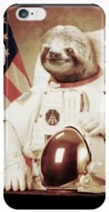 Astronaut Sloth iPhone Case