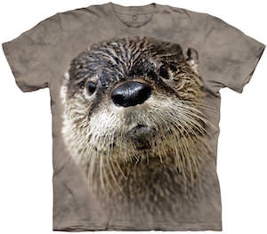 The Mountain Otter Face T-Shirt