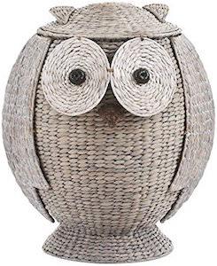 Owl Shaped Laundry Hamper