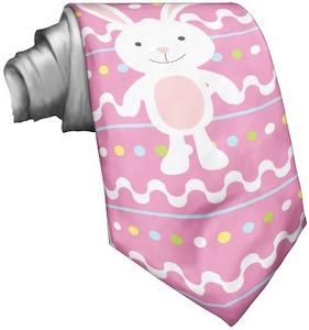 Ping Easter bunny necktie