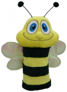 Bee Golf Club Head Cover