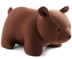 Brown Bear You Go Travel Pillow