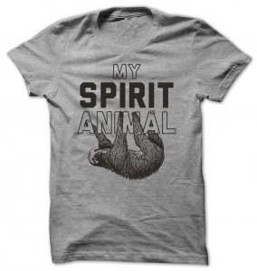 Sloth My Spirit Animal T-Shirt