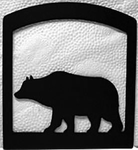 Metal Bear Napkin Holder