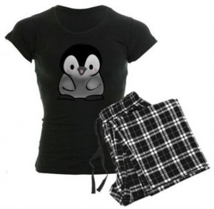 Baby Penguin Pajama Shirt With Pants