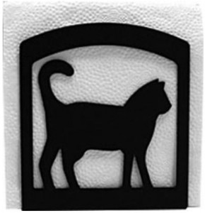 Cat Metal Napkin Holder