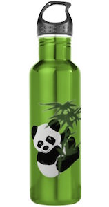 Little Panda Stainless Steel Water Bottle