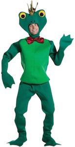 King Frog Costume