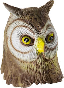 Adult Latex Owl Costume Mask