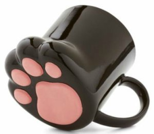 Bottom Paw Print 3D Mug