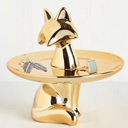 Foxy Chic Jewelry Tray