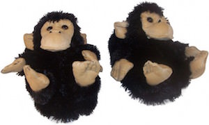 Monkey Slippers for Kids and Adults
