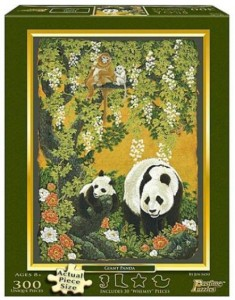 Panda Bear And Baby 300 Piece Puzzle
