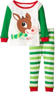 Rudolph The Red Nosed Reindeer Baby Pajamas