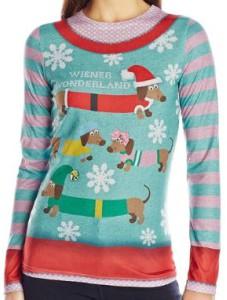 Dachshund Wiener Wonderland Christmas Sweater