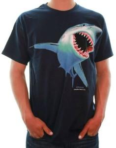 Great White Shark Bite T-Shirt