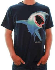 Great White Shark Bite T-Shirt