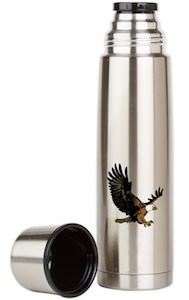 Bald Eagle Thermos Bottle