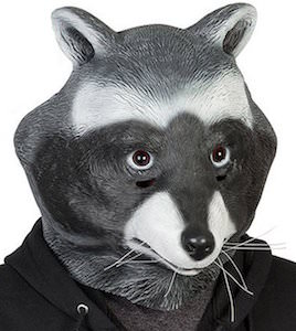 Raccoon Latex Mask
