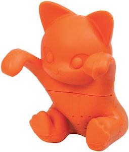 Orange Cat Tea Infuser