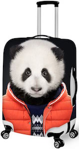 Panda Bear Luggage Cover