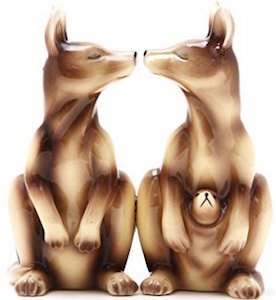 Kangaroo Salt and Pepper Shaker Set