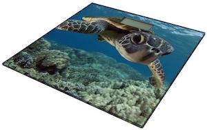 Sea Turtle Bathroom Scale