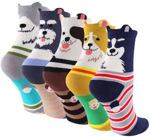 Women's Dog Face Socks
