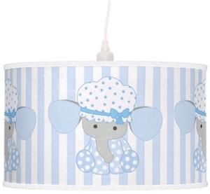 Baby Blue Elephant Hanging Lamp