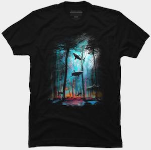 Shark Forest T-Shirt