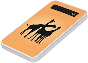 Giraffe Silhouette Power Bank