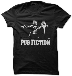 Pug Pulp Fiction T-Shirt
