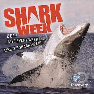Shark Week Wall Calendar 2017