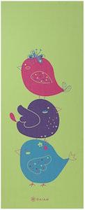 Gail Kids Yoga Mat With Birds