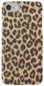 Leopard Fur Print iPhone Case
