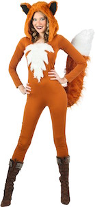 Women's Red Fox Costume