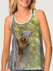Women's Squirrel Tank Top