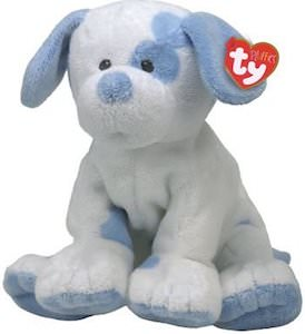 Blue Baby Pups Dog Plush