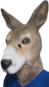 Kangaroo Head Mask