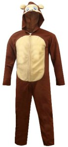 Monkey Unisex Onesie Hooded Pajama