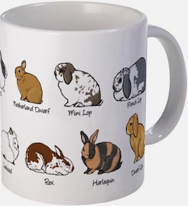 Many Rabbit Mug