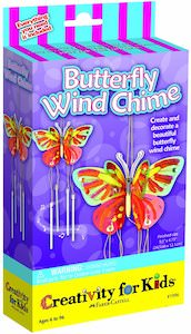 Butterfly Wind Chime Art Project