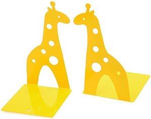 Yellow Giraffe Bookends