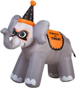 Halloween Elephant Outdoor Inflatable