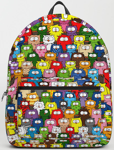 Colorful Owls Backpack