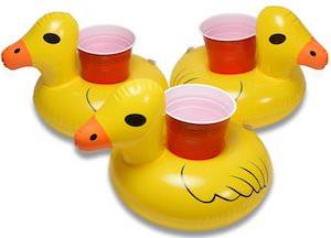 Duck Floating Drink Holder