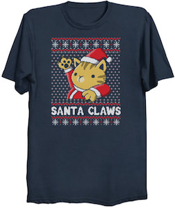 Santa Claws Christmas T-Shirt