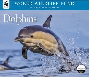 2018 WWF Dolphin Wall Calendar